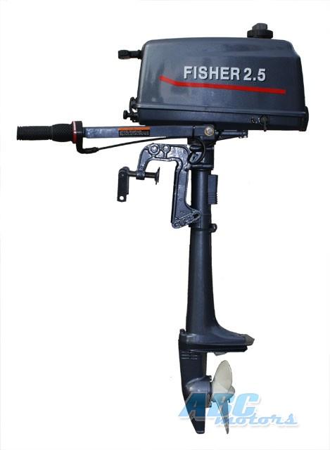продам лодочный мотор fisher 2.5