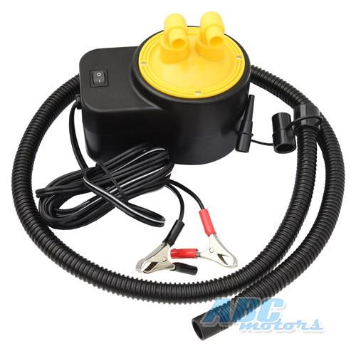 купить электрический насос с аккумулятором для лодки