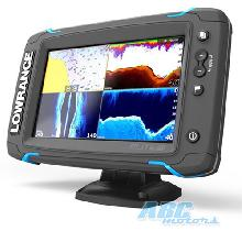 Эхолот/Картплоттер Lowrance Elite 7 Ti Mid/High/TotalScan™