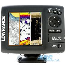 Картплоттер Lowrance Elite 5 CHIRP